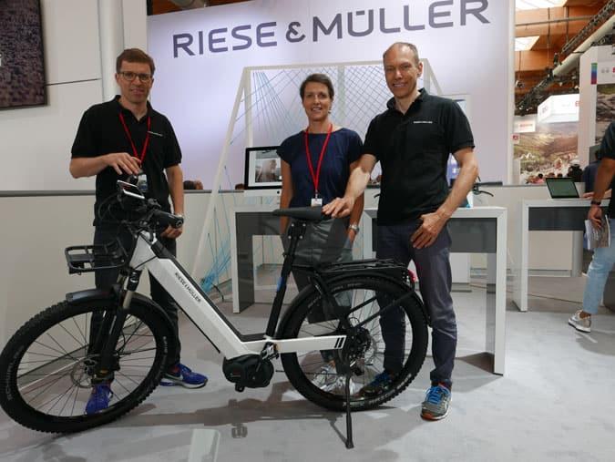 Riese & Müller MDs Heiko Müller, Dr. Sandra Wolf & Markus Riese