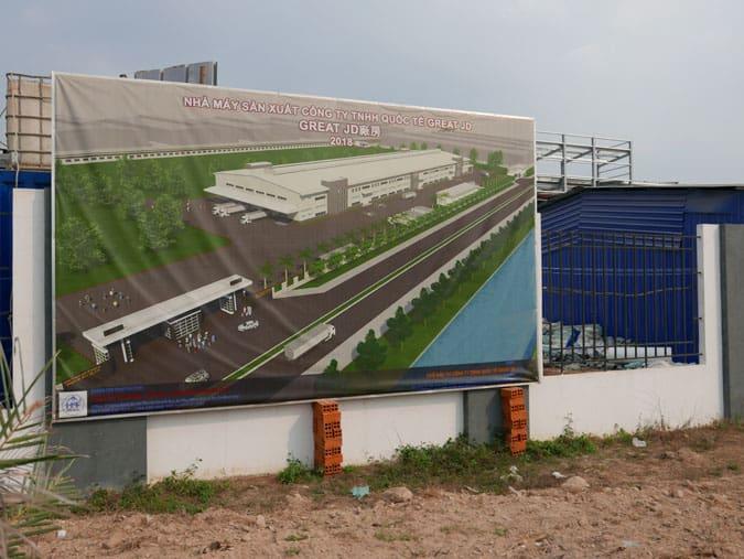Vietnam JD Factory Site